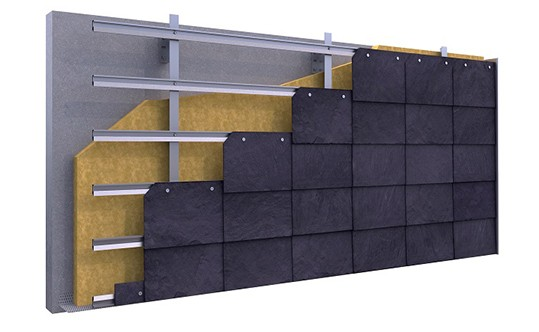 CUPACLAD fasadų įrengimo sistema