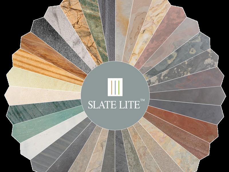SLATE LITE lankstus akmuo