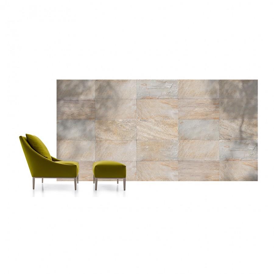 KVARCITAS, Orient Gold, natūralus akmuo, plytelė