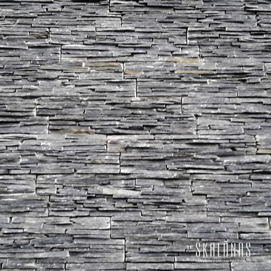 1168 Fasado apdaila, natūralus akmuo, skalūnas, HYCP02, Norvegija 2015
