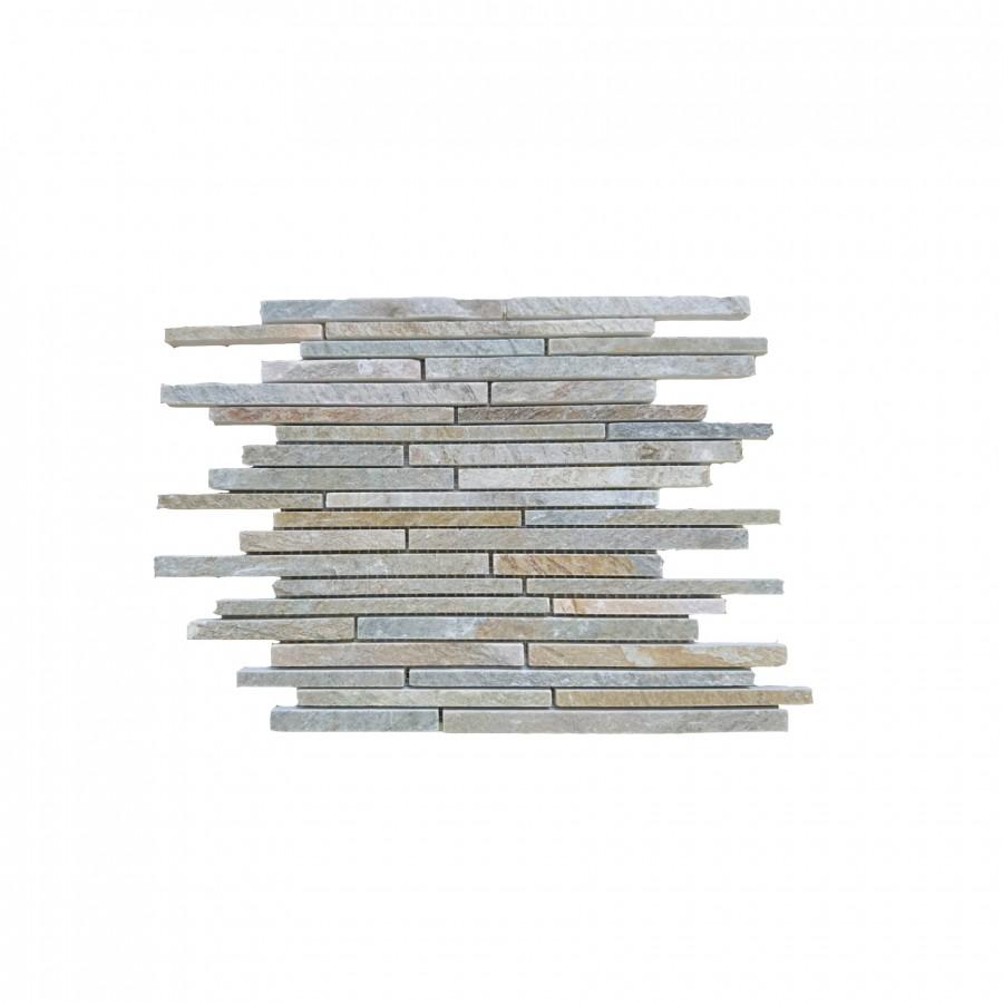 Natūralus akmuo, KVARCITAS, HYMS123MIX, 1vnt. - 0.09m2