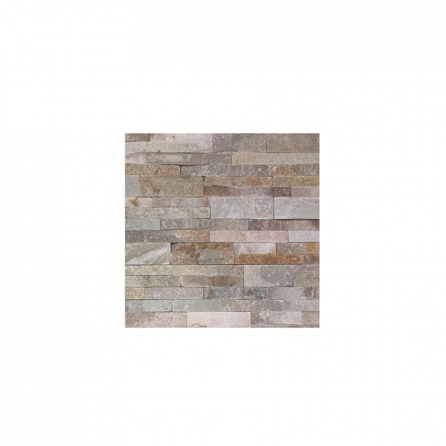 20.57 eur/m2 - Natūralus akmuo , KVARCITAS, HYCT025NW SAND, 1vnt. - 0.09m2