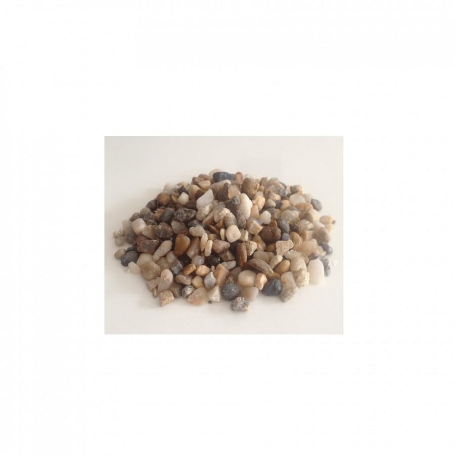 Akmenukai Multicolor, frakcija 3-6mm, PEBBLE-M, 1 maiš. - 25 kg