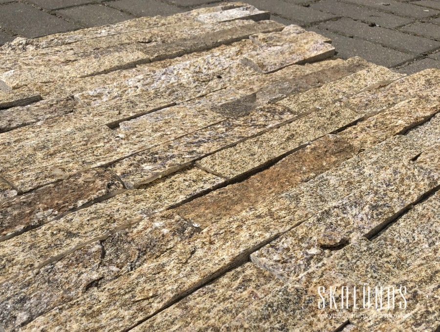 37.45 eur/m2 - Natūralus akmuo , KVARCITAS, HYCT020, 1vnt. - 0.09m2