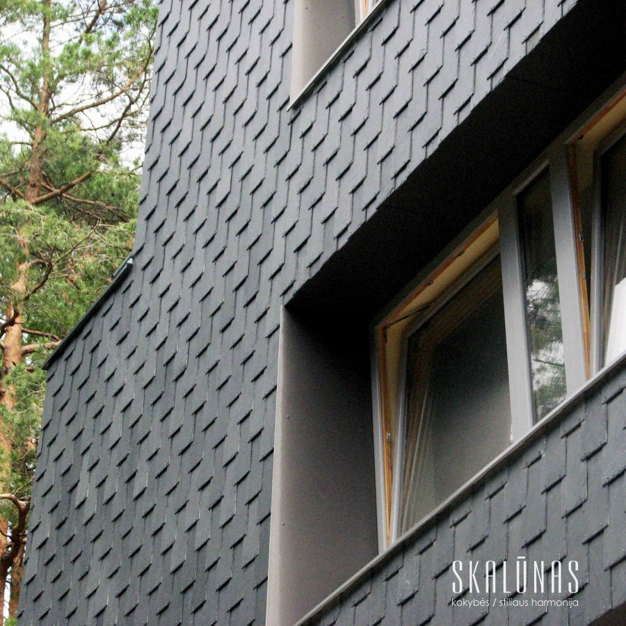934 Fasadas, natūralus akmuo, sklaūnas, 40x20, Vilnius 2011