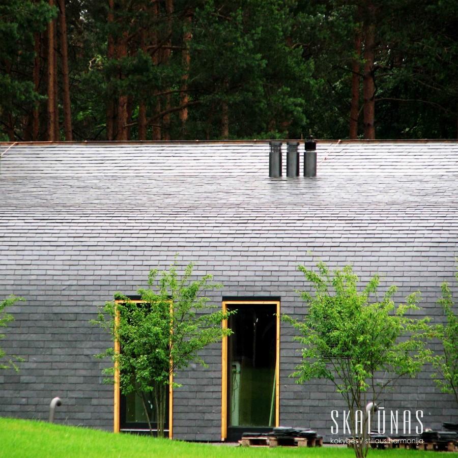 954 Fasadas, natūralus akmuo, skalūnas, 30x20, 30x30, 60x30, Vilnius 2014
